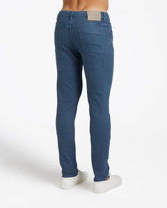 Cotton Belt - Pantalone Jeans 5 Pockets Slim Blue Nights