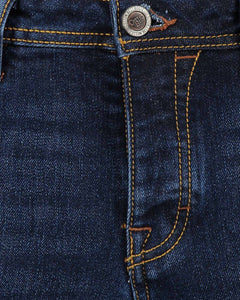 Cotton Belt - Pantalone Jeans Gregor Slim Fit Dark