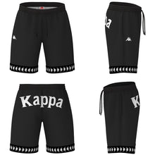 Load image into Gallery viewer, Kappa - Costume 222 Banda Colyn Black/White/Black