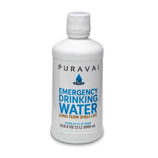PURAVAI EMERGENCY DRINKING WATER 6 PK