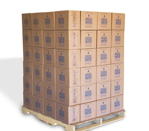 PURAVAI EMERGENCY DRINKING WATER PALLET, 132 CASES