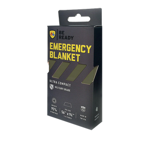 Be Ready Emergency Blankets Green