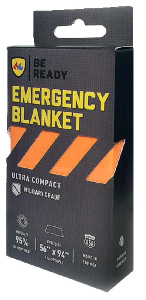 Be Ready Emergency Blankets Orange