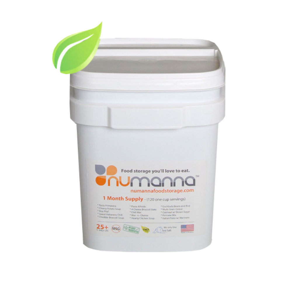 Numanna Food Storage Family pack Gluten Free