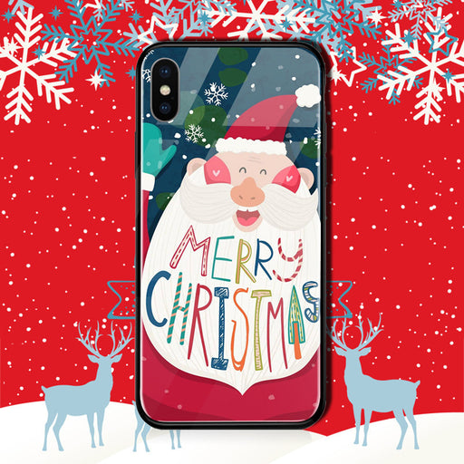 Christmas gift Samsung glass phone case
