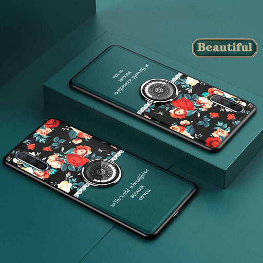 Romantic Flower Language Huawei Case