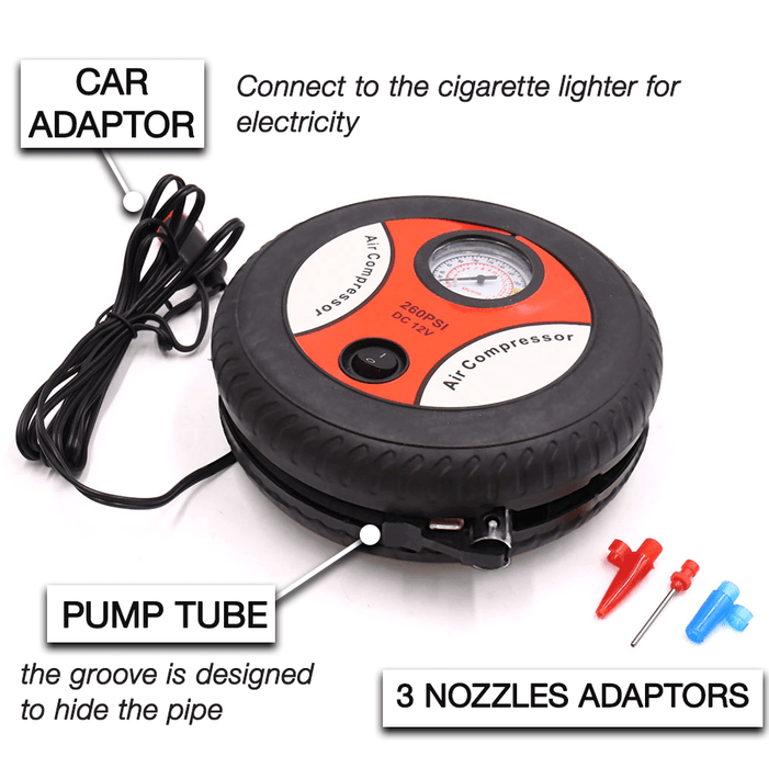 Portable Tire Air Pump