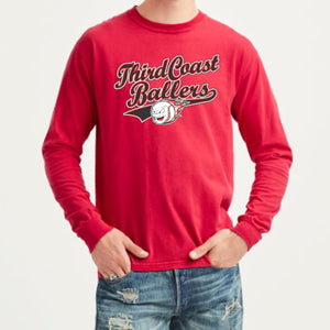 Third Coast Ballers Comfort Color Long Sleeve Tee