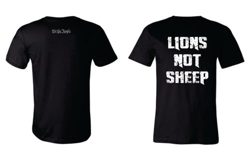 Lions Not Sheep Shirt