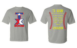 TX Boom Roster DRI-FIT Shirt (YOUTH & ADULT)