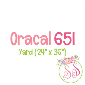 Oracal 651 Adhesive - Yard