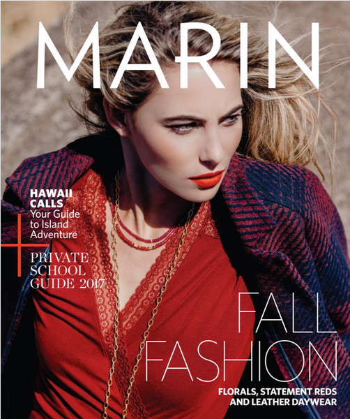Marin Magazine September 2017 Issue cover