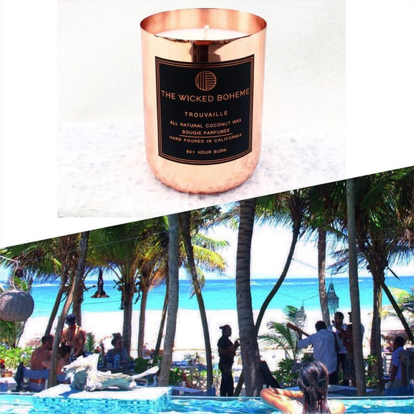 12oz Copper Coconut Wax Candle - Wanderlust / Boheme