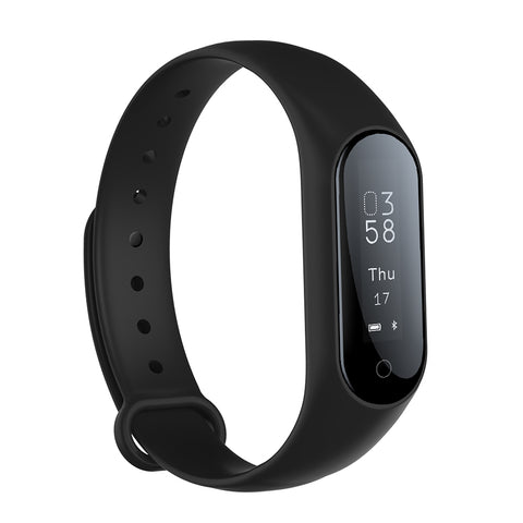 0.87'' OLED Smart watch Blood pressure/Heart rate Monitor fitness bracelet Android IOS smart band wristband Bluetooth smartwatch