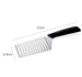 1 PcStainless Steel Potato Chip Dough Vegetable Crinkle Wavy CutterSlicer Fruits Knife Food F2313