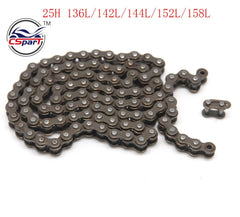 136 142 144 152 158 25H Chain Spare Master Links Motocross For 47cc 49cc Mini Dirt ATV Motor Pocket Bikes Minimoto