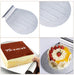 1pc Stainless Steel Transfer Tray Moving Plate Cake Lifter Shovel Pastry Baking Tool