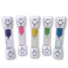 2 Minute Smiley Sand Timer  Kids Toothbrush Timer for Brushing Children's Teeth Inexpensive