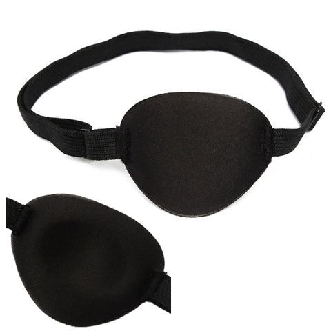 Excellent Quality Medical Use Concave Eye Patch Goggles Foam Groove Washable Eyeshades Adjustable Strap