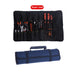 Multifunctional Oxford Canvas Chisel Roll Rolling Repairing Tool Utility Bag Practical with Carrying Handles 3 Colors