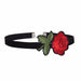 Style Women Jewelry Black Chokers Flower Necklaces Embroidery Rose Choker NecklaceClassic NS3893