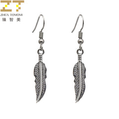 2018 OorbellenTrendyDrop Earrings BijouxRetro Feather StatementListing Dangling For Women Jewelry