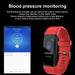 2018 Men Women Smart Bracelet Waterproof Sport Digital Watch Blood Pressure Heart Rate Sleep Monitor Wristband For Android IOS