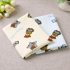 2pcs/lot Newborn Baby Diaper Pads Reusable Nappy Changing Covers Waterproof Kids Diapers Pads Mattress Children Game Floor Mats