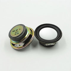 2x 2 inch 4 ohm 50mm 3W Full Range Speaker Neodymium Magnetic Round DIY Loudspeaker Audio Speakers gamut