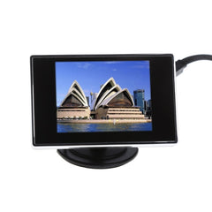 3.5inch TFT LCD Color Monitor Screen DVD VCD For Car Rear View Backup Camera