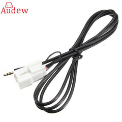 3.5mm 5 Pin Car Auto Interface Aux MP3 Auxiliary Audio Adapter Cable Ba-Bf Falcon AUX Cable Input MP3 Cable For Ford