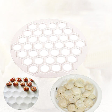 37 Holes Ravioli dumplings Tool maker mold Aluminum Cooker russian pelmeni maker Dumplings Making Mold