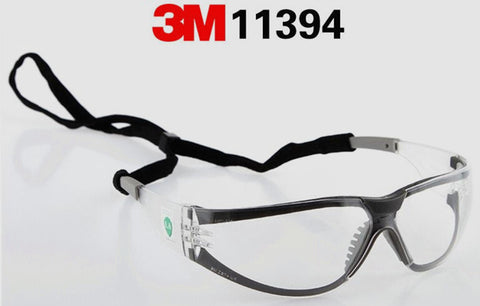 3M 11394 Safety Gasses Windproof Anti-uv Protective Glasses Working Eyeglasses