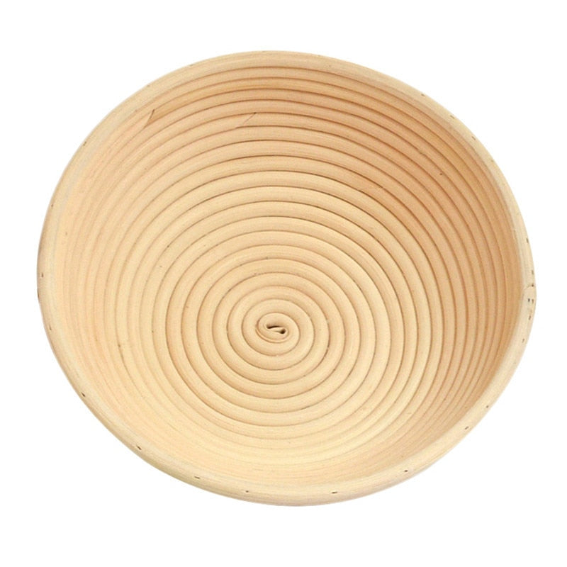 4 Sizes Round Shaped Dough Proofing Basket Rattan Banneton ...