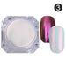 4Pc Magic Mirror Powder Dust Nail Glitter DIY Nail Art Tips Sequins Chrome Effect Pigment Nail Art Decoration Tools