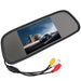 5 Inch TFT LCD Wide View Angle Car Rear View Mirror Monitor Parking + 18mm Color Waterproof Auto Car Rearview Reverse Camera