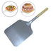 66cm Aluminum Pizza Peel Shovel with Wooden Handle