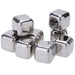 8Pcs/lot Whiskey Wine Beer Stones 440C Stainless Steel Cooler Stone Whiskey Rock Ice Cube Edible Alcohol Physical Chiller Stone