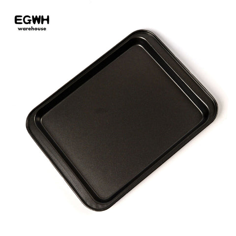 9.5/13 inch Rectangle Non-stick Cake Baking Pan Cookies Pizza Baking Pan Flat Bottom Bread Baking Tray