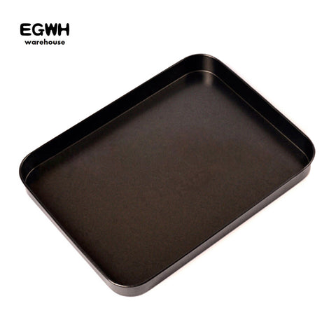9.5 inch Rectangle Non-stick Cake Pan Cookies Baking Pan Flat Bottom Bread Baking Tray 178g