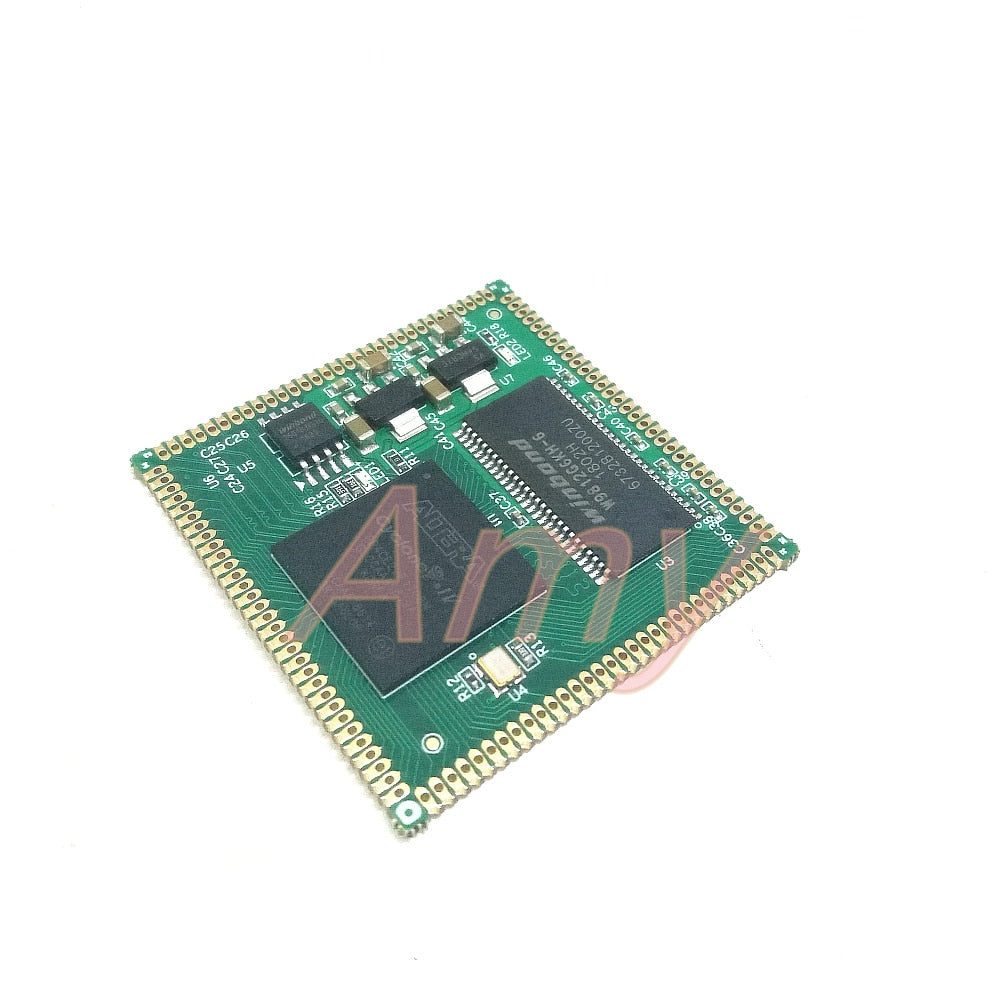 AC608, FPGA core board, stamp hole, EP4CE22/EP4CE15/EP4CE10 fully  compatible