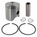 AHL Bore Size 59mm Motorcycle Standard Piston & Piston Ring & Clip Kit for YAMAHA TZM150 TZM 150