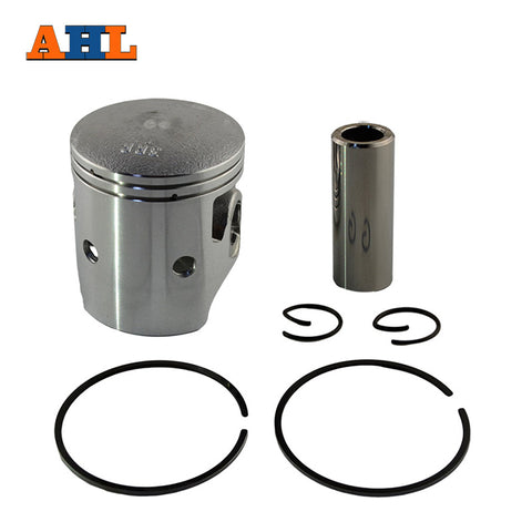 AHL Bore Size 59mm Motorcycle Standard Piston & Piston Ring & Clip Kit for YAMAHA TZR150 TZR 150 3RR