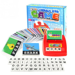 Alphabet Letters Card Game Learning toys English Word ABC Puzzle Toy Children Educational Toys Baby Learning Literacy Fun game