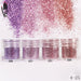 Art Nail 1 Jar/Box 10ml NailLight Purple Pink Nail Glitter Fine Powder For Gel Nail Decoration Powder 300 Colors 4-25