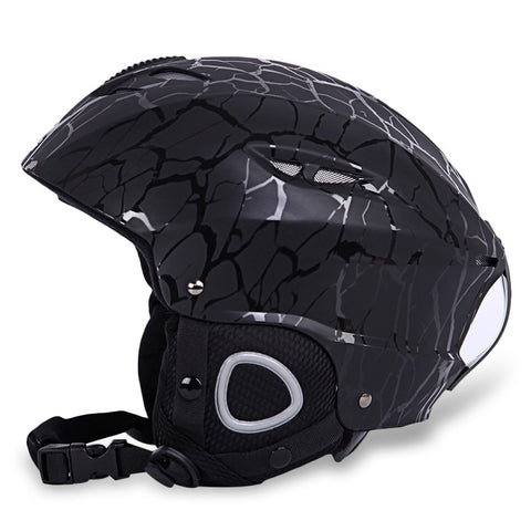 BENICE Sports Safety Skiing Helmet with Inner Adjustable Buckle Liner Cushion Layer 58-61cm Head Circumferencess Skiing Helmet