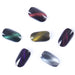 BORN PRETTY 6 Pcs Cat Eyes Magnet Nail Glitter 3D Powder Magic Magnetic Nail Glitter Dust UV Gel Manicure Nail Art Pigment