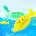 Baby Bath Thermometer Lovely Plastic Float Floating Fish Toy Bath Tub Water Sensor Fish Baby Water Thermometer F20