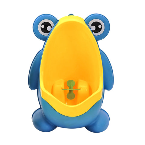 Baby Boy Infants Toddler Portable Frog Potty Suction Cups Wall-mounted Cartoon Urinal Toilet Children Stand Urinals Penico Pee ^