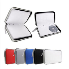 Car CD DVD Oganizer Bags Portable 40 Disc CD DVD Wallet Storage Box Organizer Case Holder